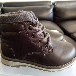 Jumping Beans Toddler Leather Boots. Size: 6.